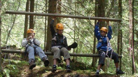 Climbing & High Ropes Course