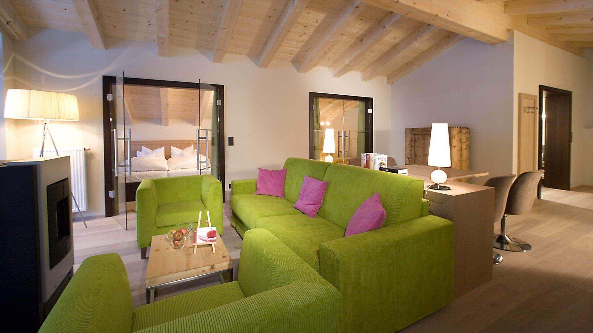 Kamin Suite Almhof Family Resort Spa