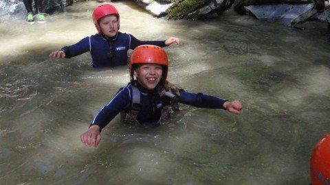 kinder-canyoning