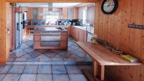 Almhof Chalet Küche
