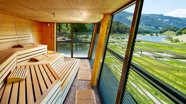 w panorama sauna