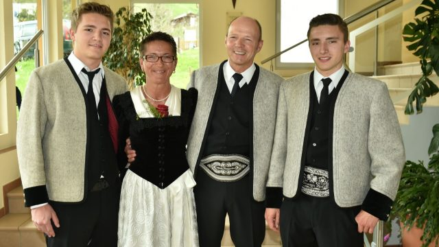Familie Martin Kammerlander