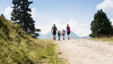 Familien Wanderung