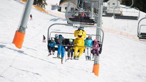 kinderski familie skilift