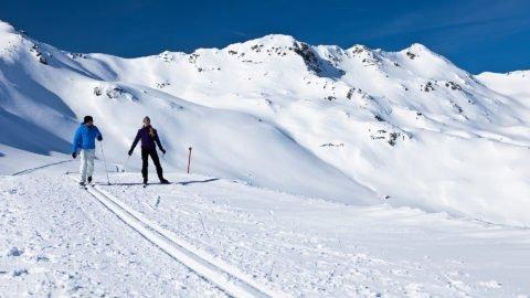 langlaufen zillertal winter