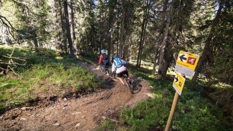 mountainbike trail gerlos