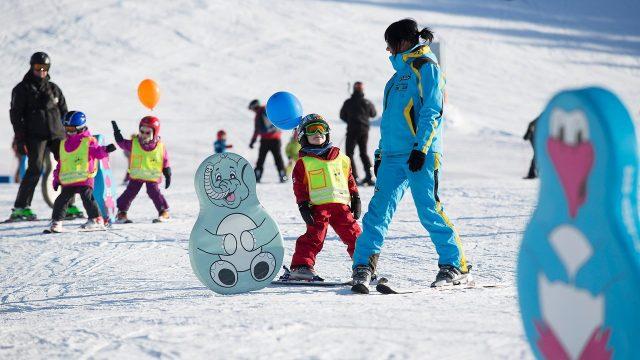 ski familie kinderskikurs