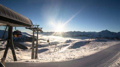 zillertal skilift panorama