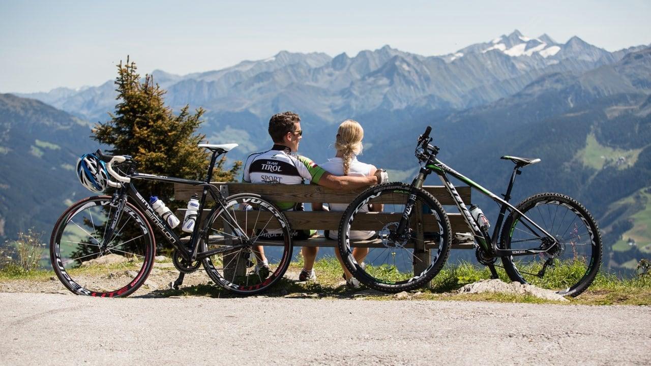 zillertal mountainbike hoehenstrasse