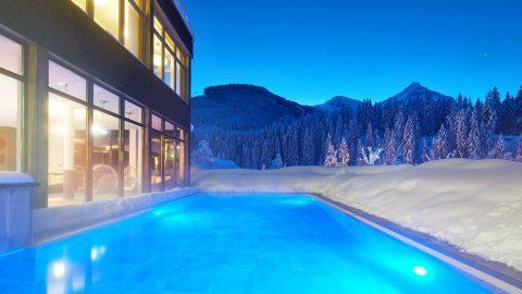 Freischwimmbad Winter