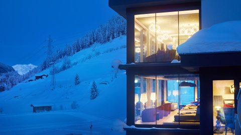 Wellness Turm Winter