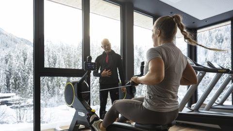 Fitness Rudermaschine 1