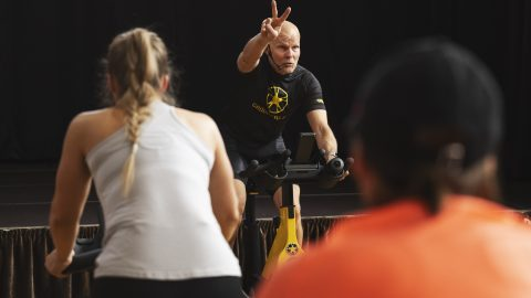 Fitness group cycling 2