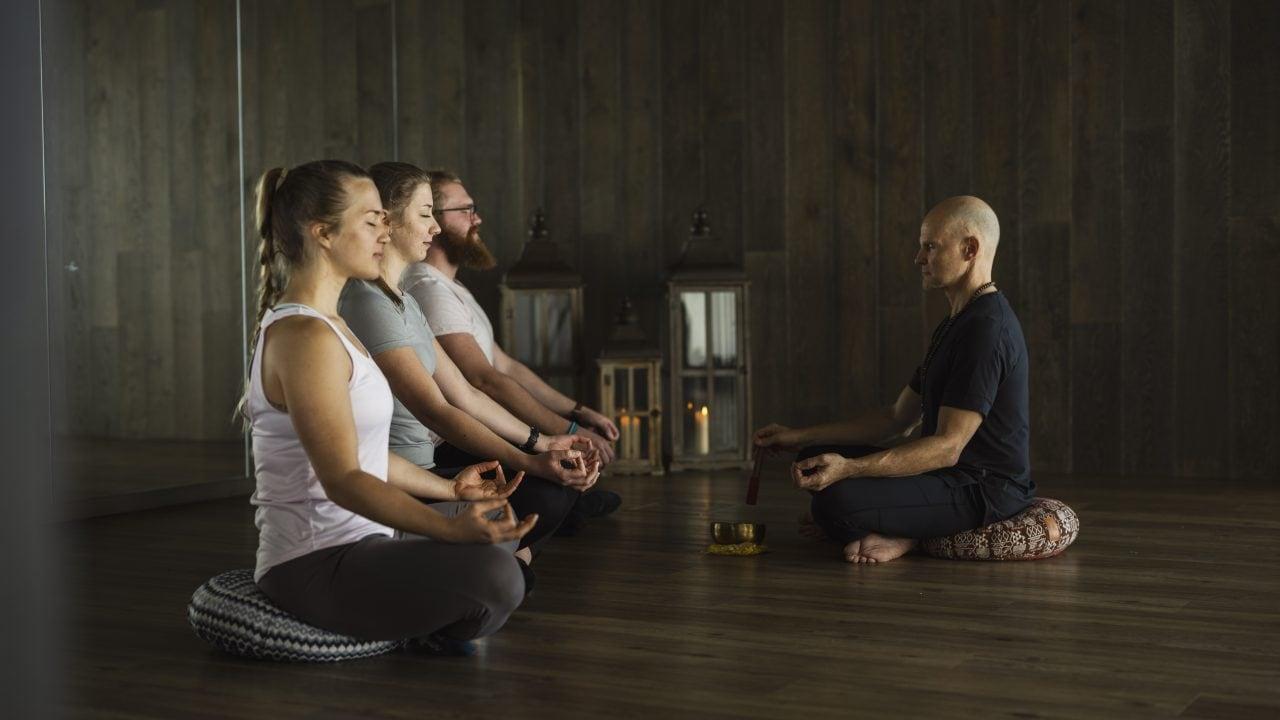 Yoga Gruppe 2